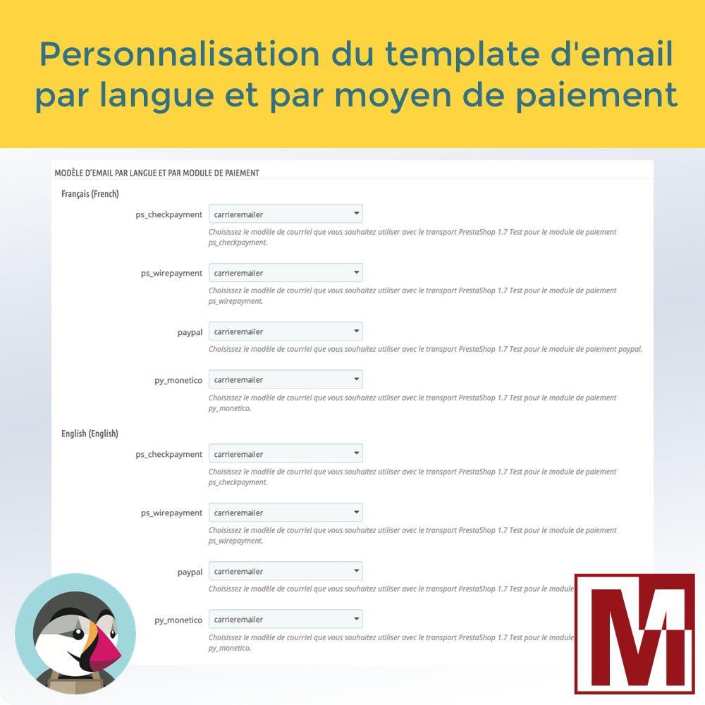 module - Préparation & Expédition - Envoyez vos commandes par email aux transporteurs - 4