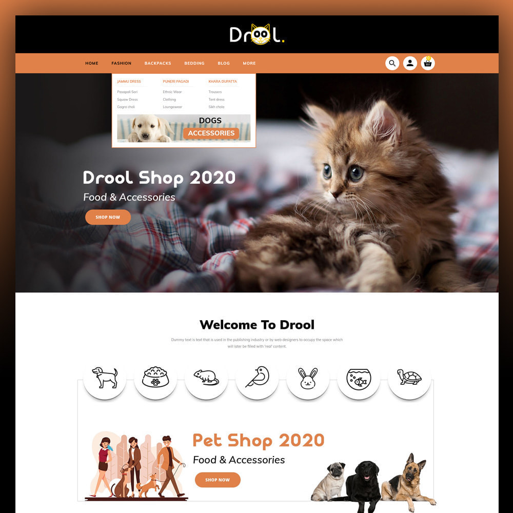 theme - Animais - Drool - Pet Store - 2