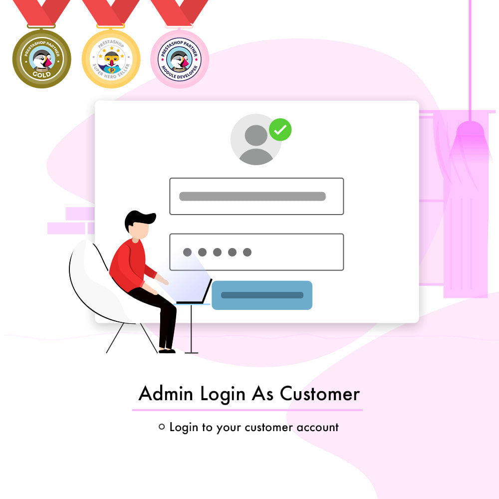 module - Klantenservice - Admin Login as Customer | Access User Account - 1