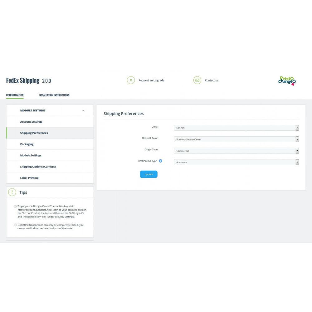 module - Suivi de livraison - FedEx Shipping + Label Printing - 6