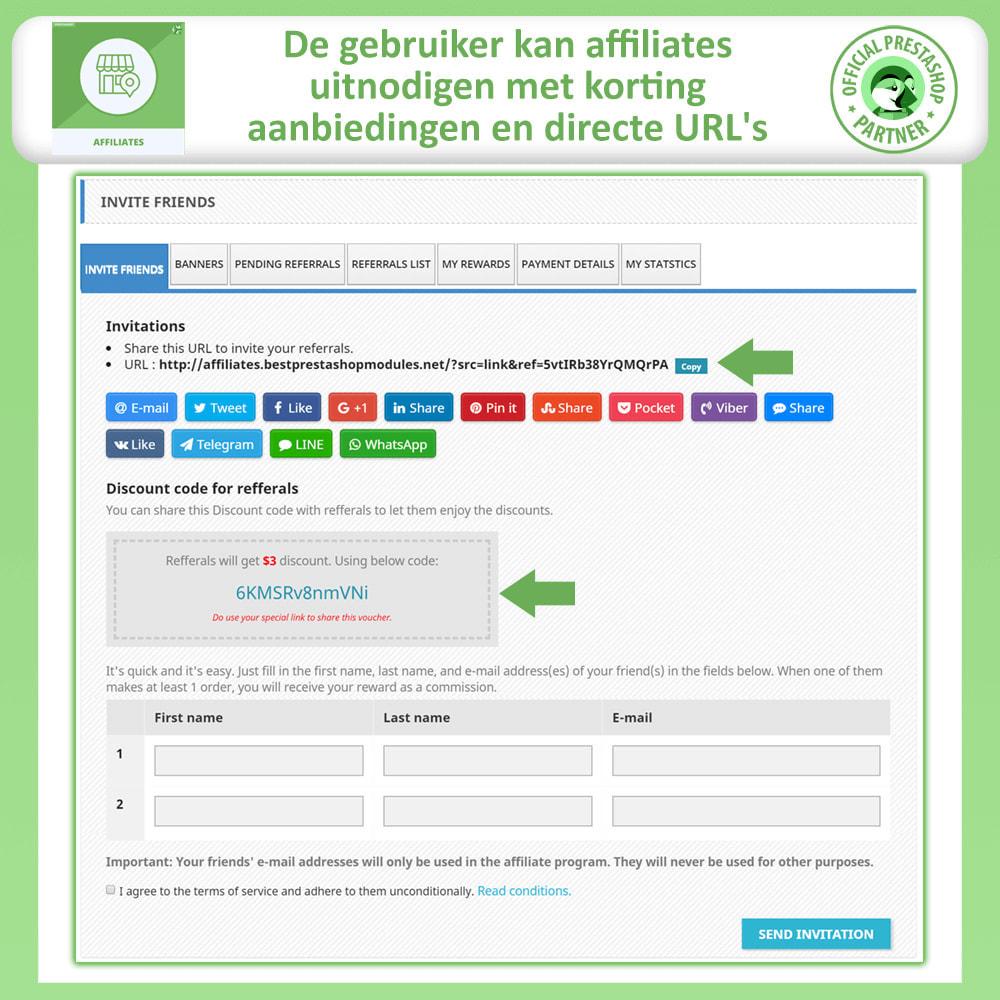 module - Betaalde vermelding & Lidmaatschap - Affiliates Pro, Affiliate & Referral Program - 3
