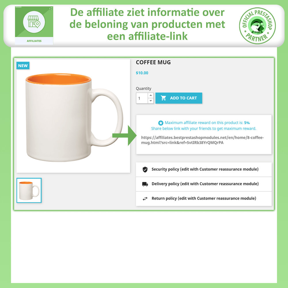 module - Betaalde vermelding & Lidmaatschap - Affiliates Pro, Affiliate & Referral Program - 5