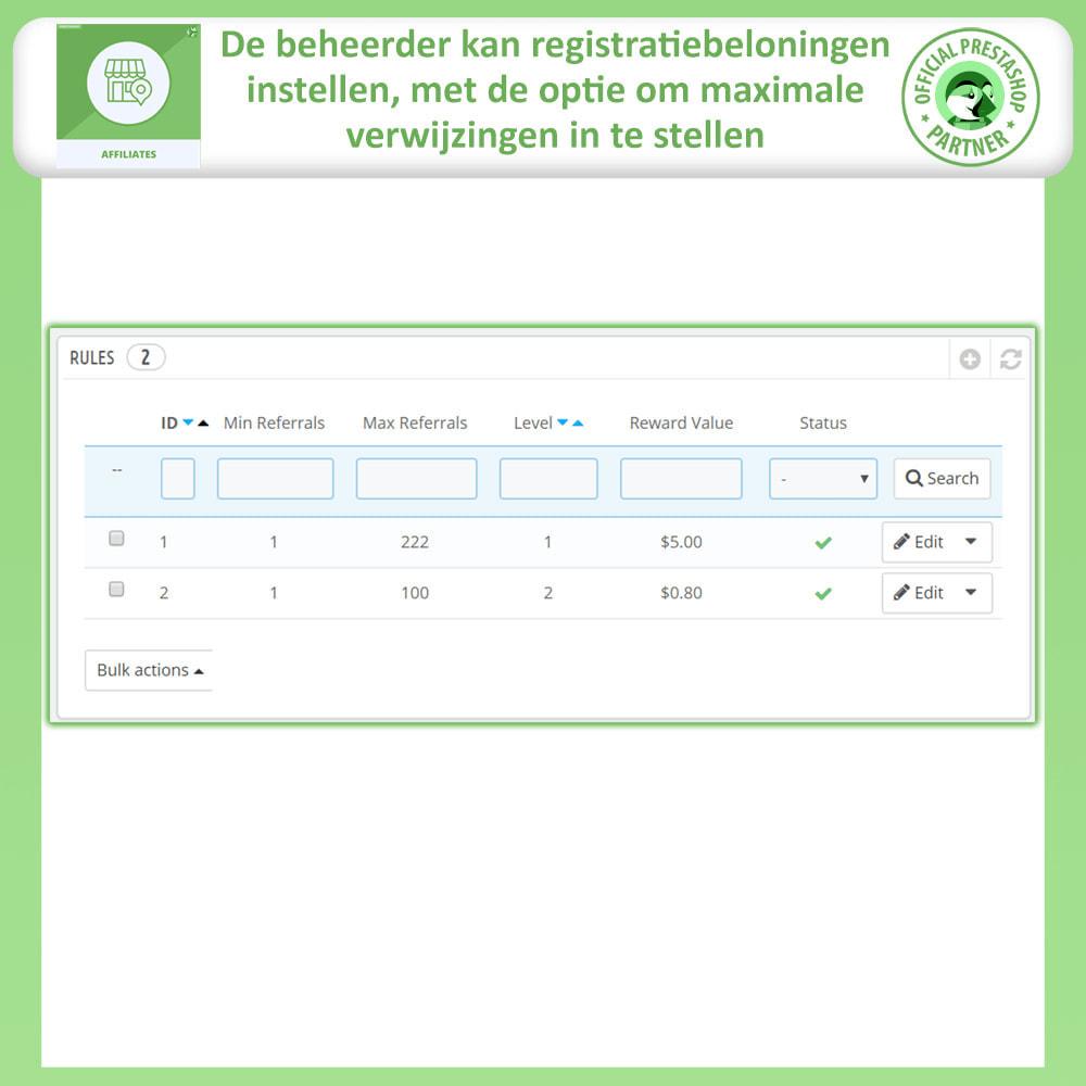 module - Betaalde vermelding & Lidmaatschap - Affiliates Pro, Affiliate & Referral Program - 19