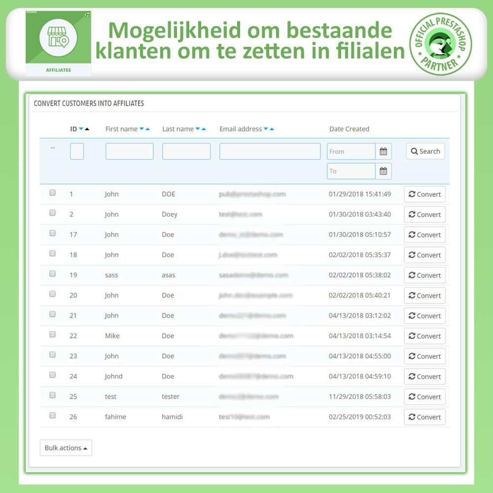 module - Betaalde vermelding & Lidmaatschap - Affiliates Pro, Affiliate & Referral Program - 25