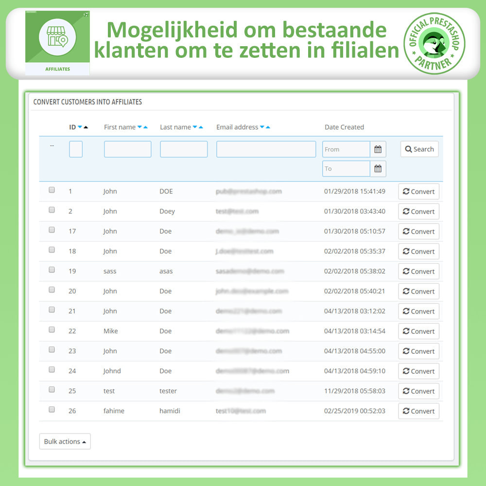 module - Betaalde vermelding & Lidmaatschap - Affiliates Pro, Affiliate & Referral Program - 25