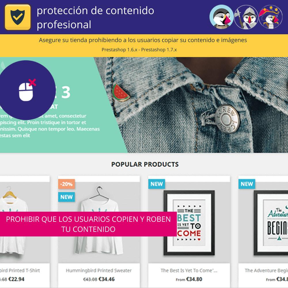 module - Seguridad y Accesos - Pro Content Protection - Proteja su contenido - 2