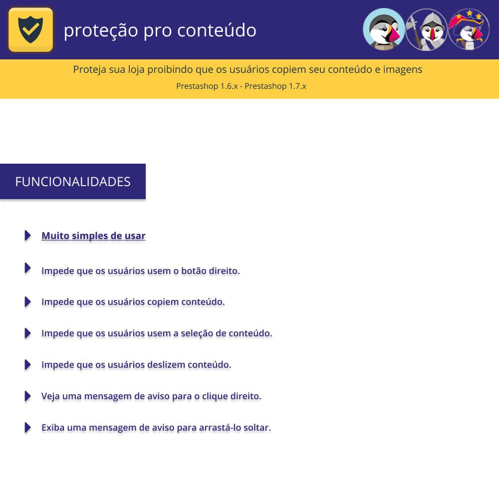 module - Segurança & Acesso - Proteção de conteúdo pro - proteja seu conteúdo - 1