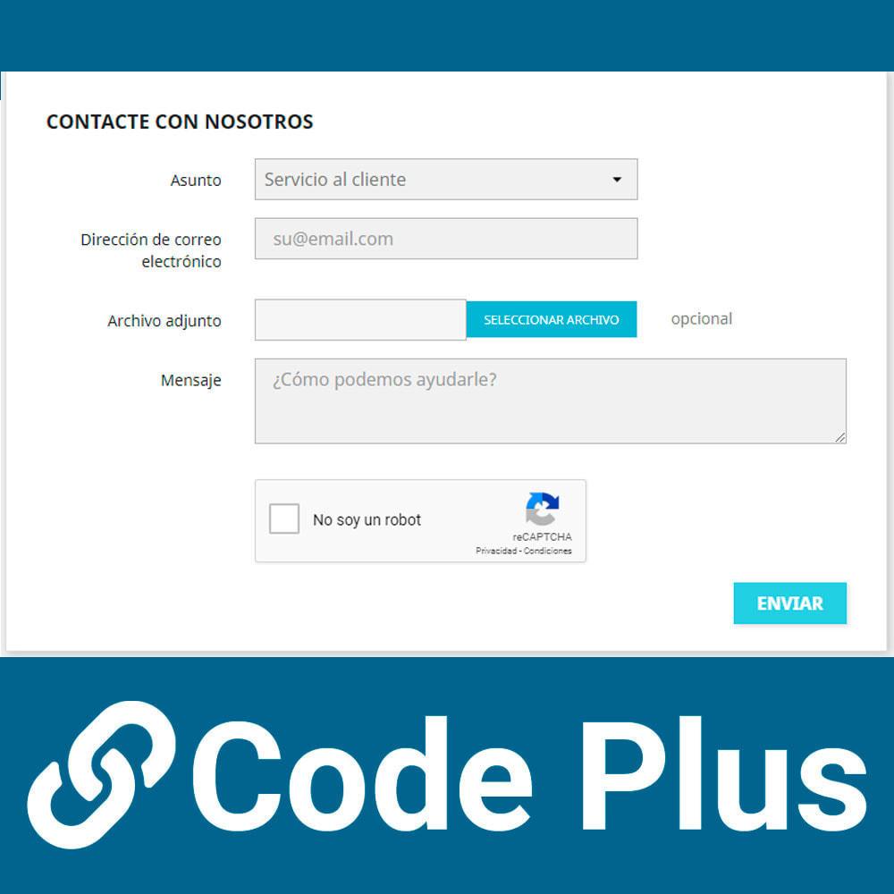 module - Seguridad y Accesos - Google Recaptcha para formularios - 5