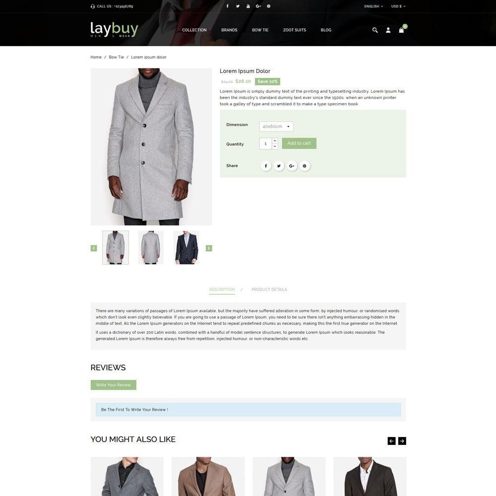 theme - Fashion & Shoes - Laybuy - Fashion Store - 4
