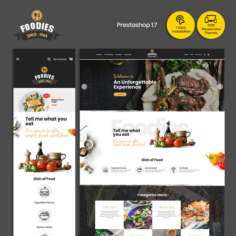 theme - Cibo & Ristorazione - Food Burger - Pizza Food Store - 1