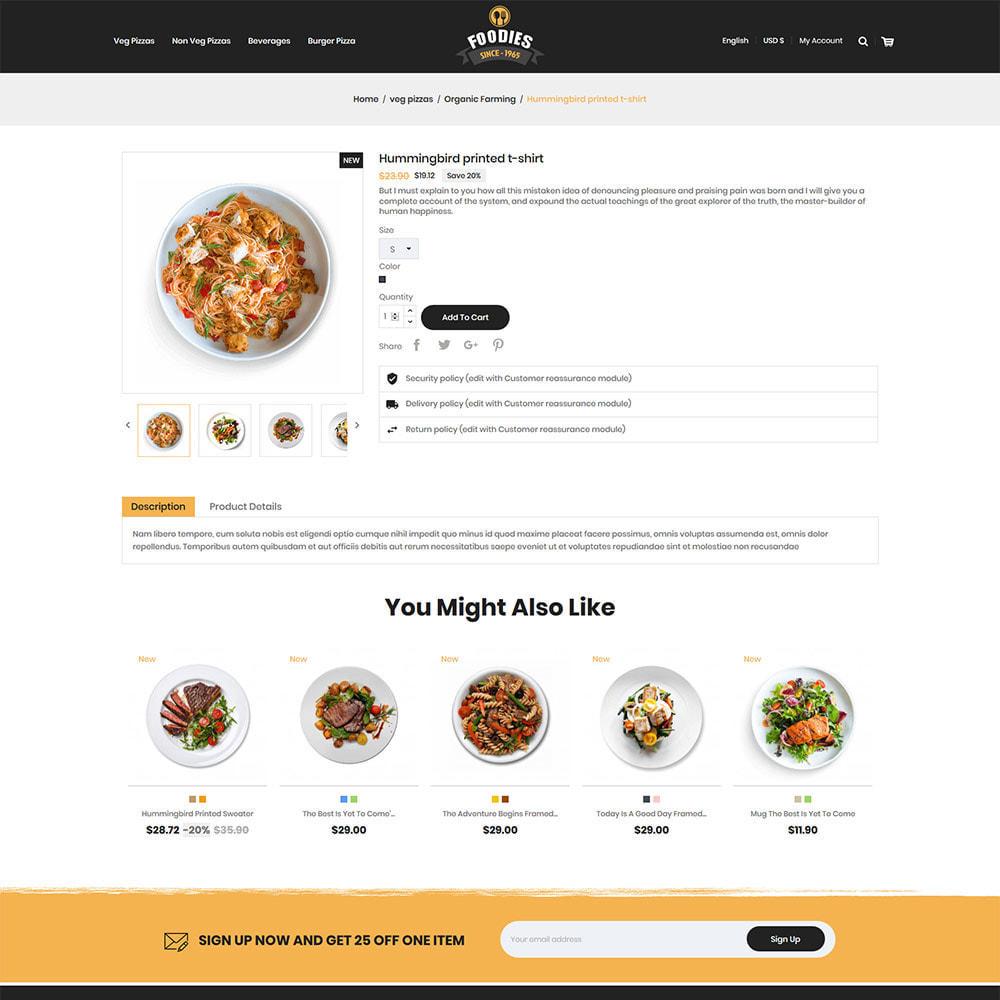 theme - Eten & Restaurant - Food Burger - Pizza  Food Store - 4