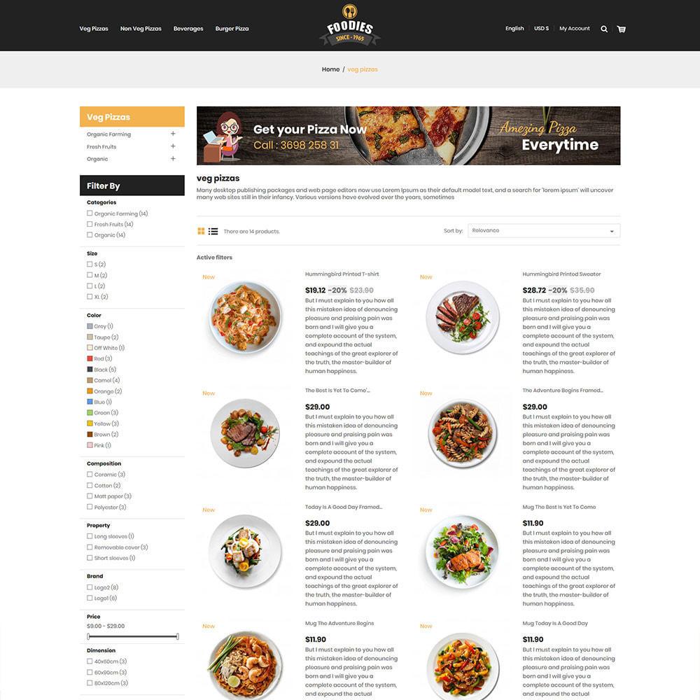 theme - Eten & Restaurant - Food Burger - Pizza  Food Store - 5