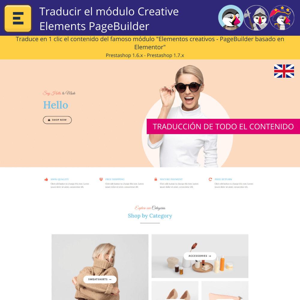 module - Internacionalización y Localización - Traducir el Creative Elements PageBuilder - 3