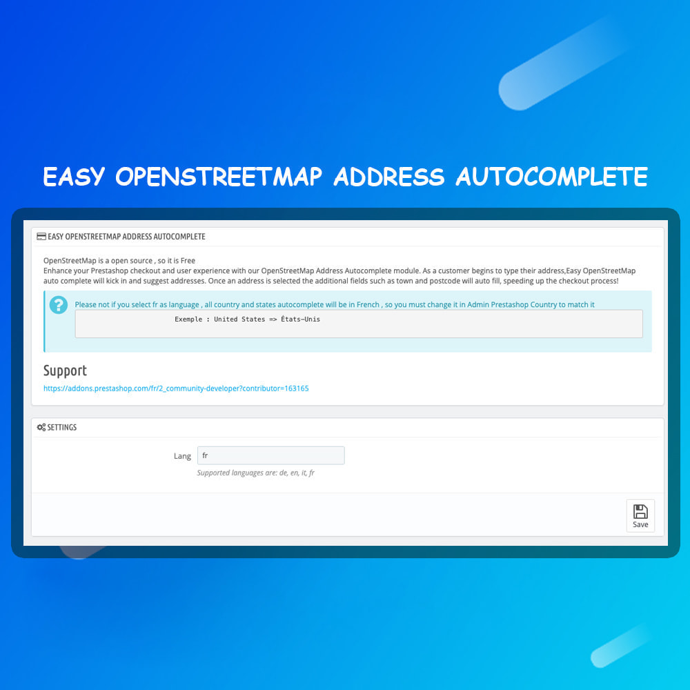 module - Express Checkout Process - Easy OpenStreetMap Address Autocomplete - 4