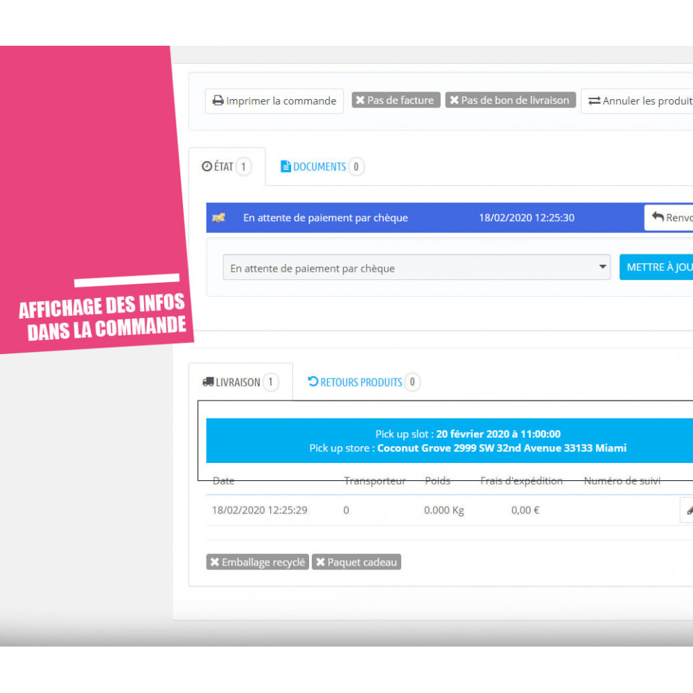 module - Point Relais & Retrait en Magasin - Drive et Click & Collect / Retrait magasin - 14