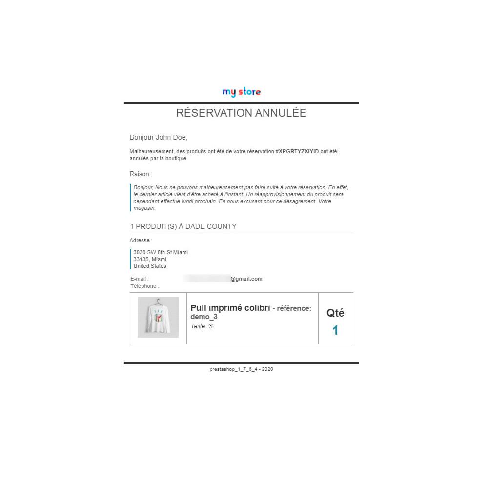 module - Gestion des Stocks & des Fournisseurs - Click & Collect Advanced / E-Reservation - 13