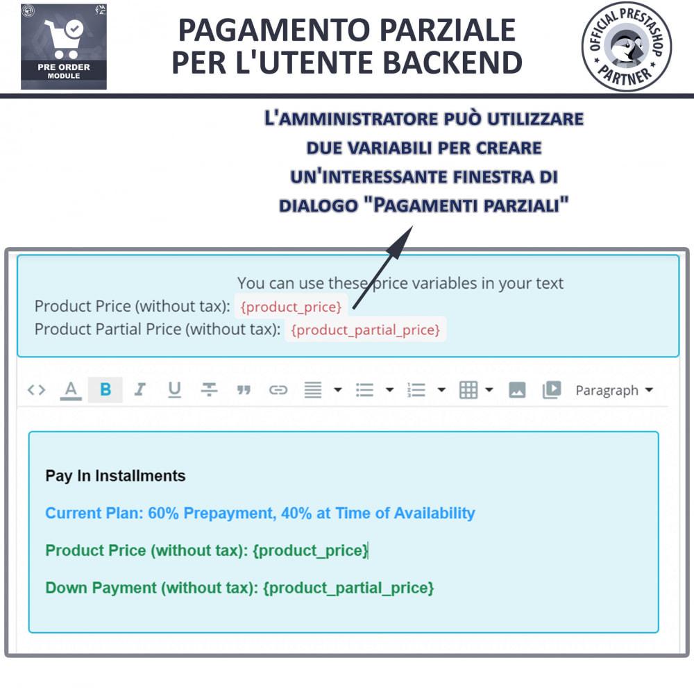 module - Iscrizione e Processo di ordinazione - Pre-ordine e lista d'attesa - 14