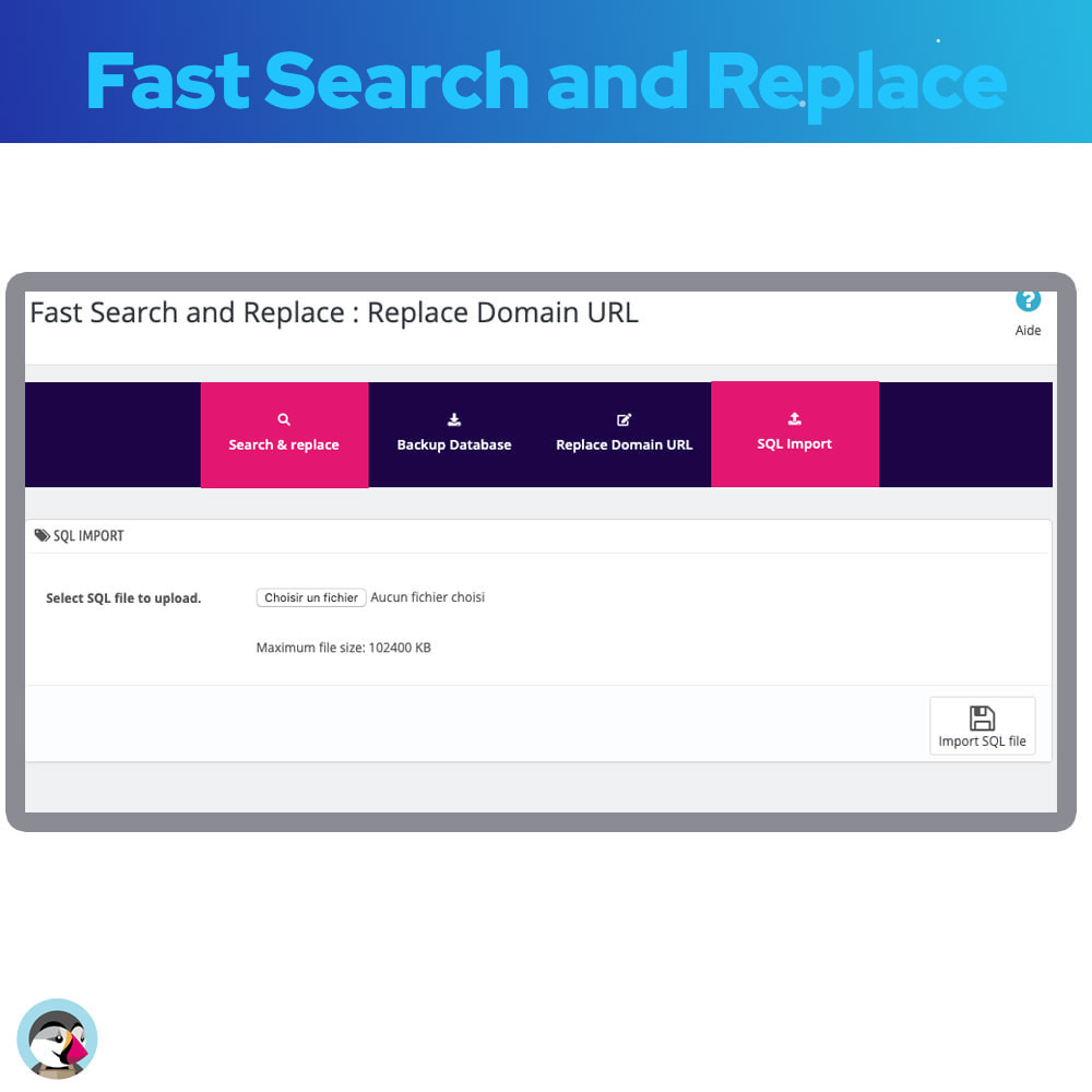 module - Fast & Mass Update - Fast Search and Replace - 7
