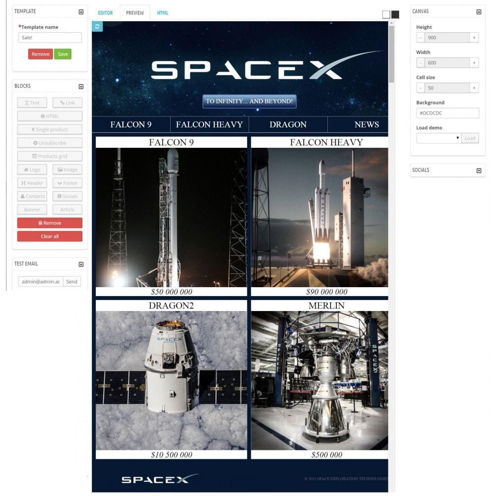 module - Newsletter & SMS - Custom Mailer SeoSA - newsletter - 7