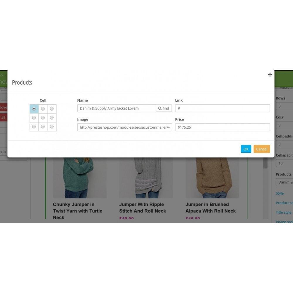 module - Newsletter & SMS - Custom Mailer SeoSA - newsletter - 12
