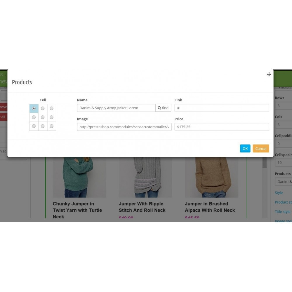 module - Nieuwsbrief & SMS - Custom Mailer SeoSA - newsletter - 12