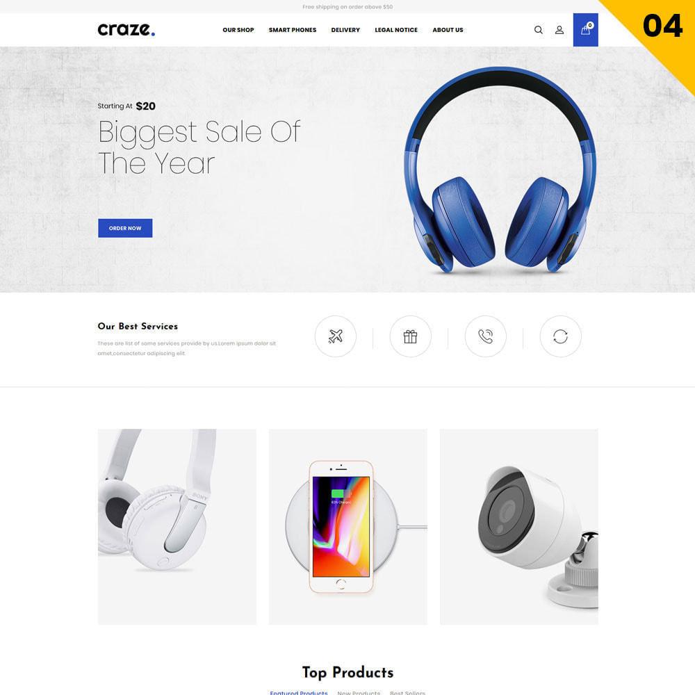 theme - Moda y Calzado - Craze - La tienda en línea multipropósito - 7