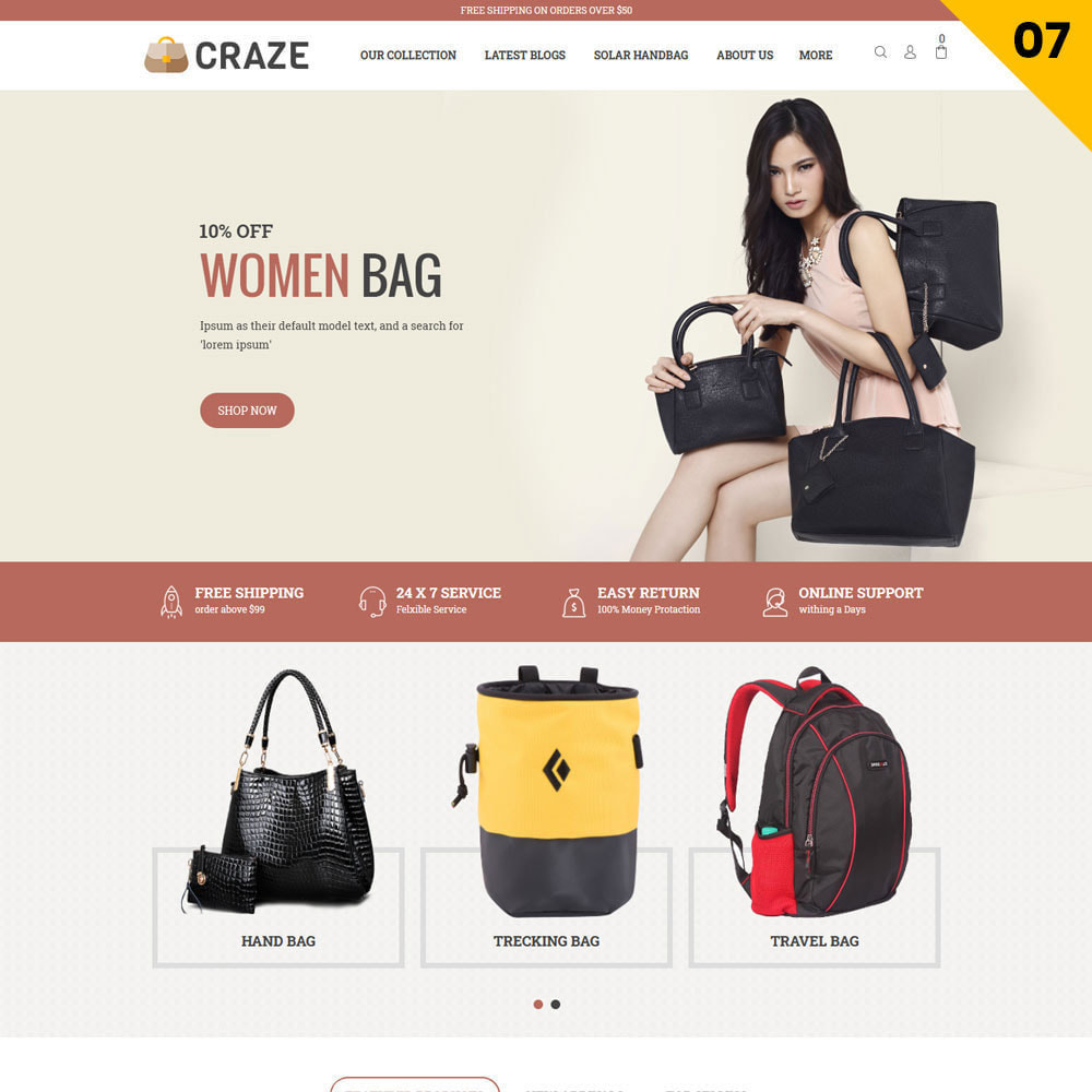 theme - Moda & Calzature - Craze - Il negozio online multiuso - 10
