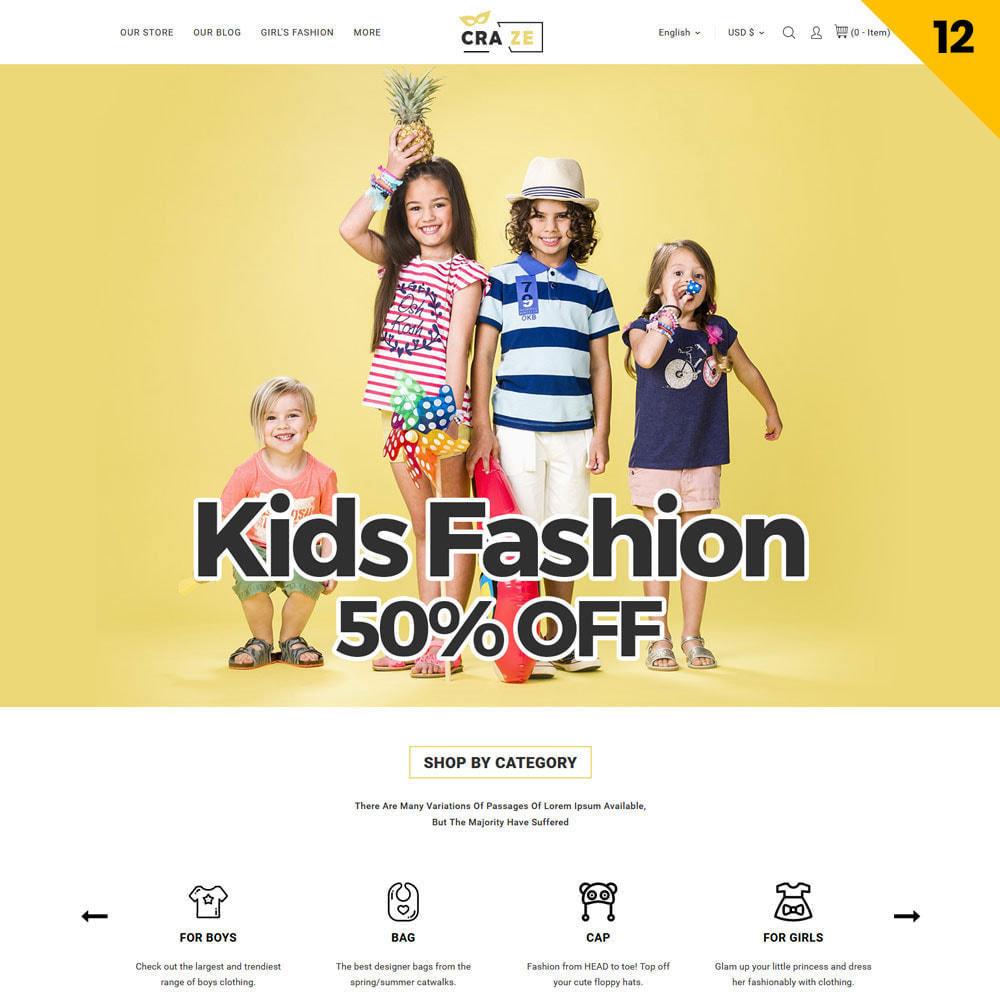theme - Moda & Calzature - Craze - Il negozio online multiuso - 15