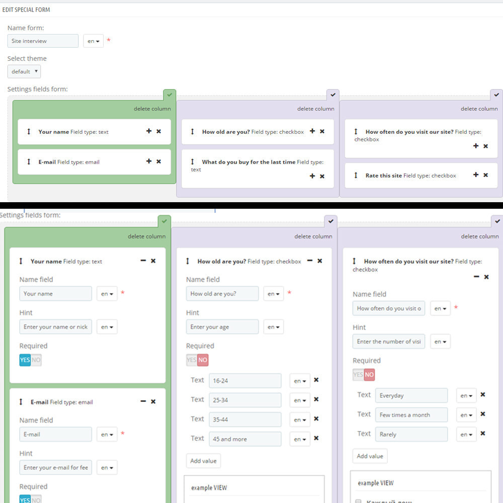 module - Formularz kontaktowy & Ankiety - Niestandardowy formularz / pole na stronie cms - 9