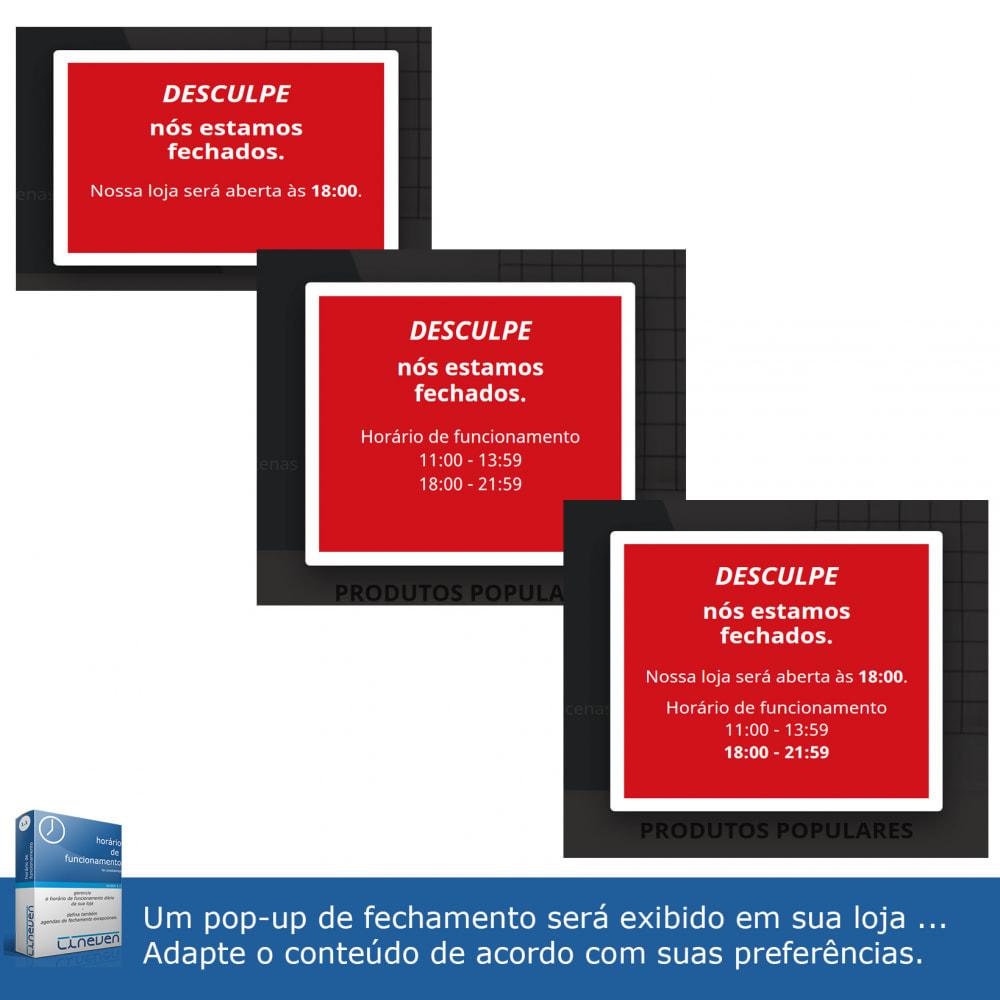 module - Ferramentas de Administração - Horário de funcionamento e fechamentos excepcionais - 4
