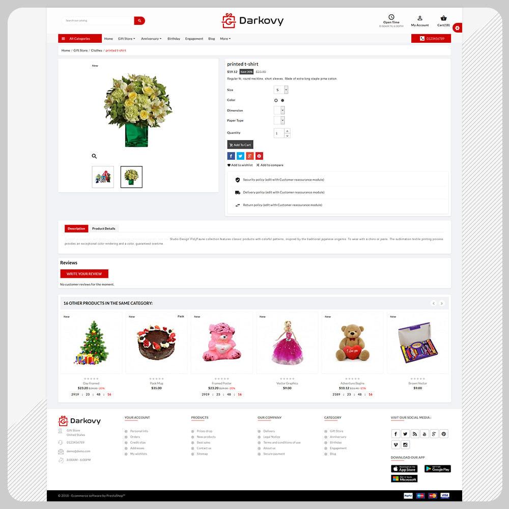 theme - Cadeaux, Fleurs et Fêtes - Darkovy Greeting–Mega Christmas–Gift Shop - 4