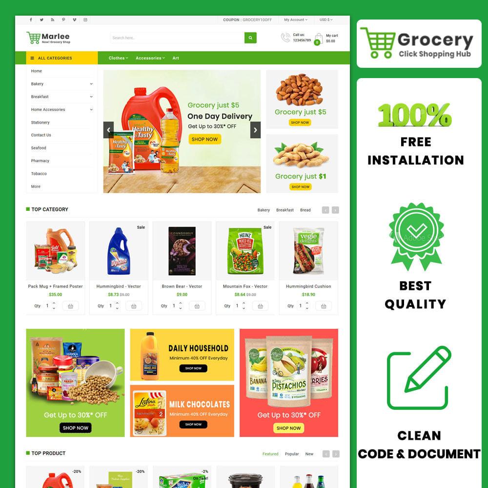 theme - Lebensmittel & Restaurants - Grocery Farm and Food shopping Store - 1