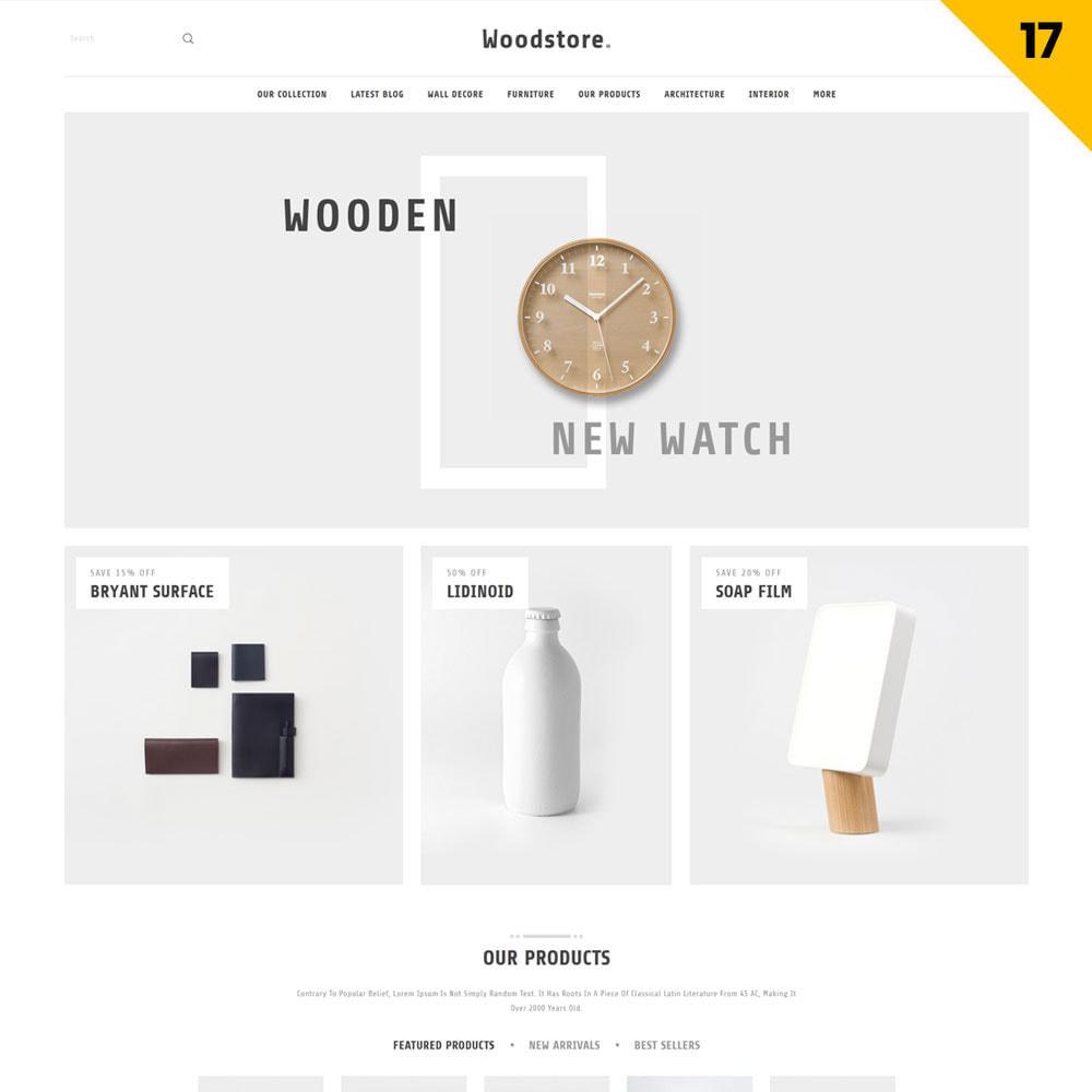 theme - Maison & Jardin - Wood - le magasin de meubles - 19