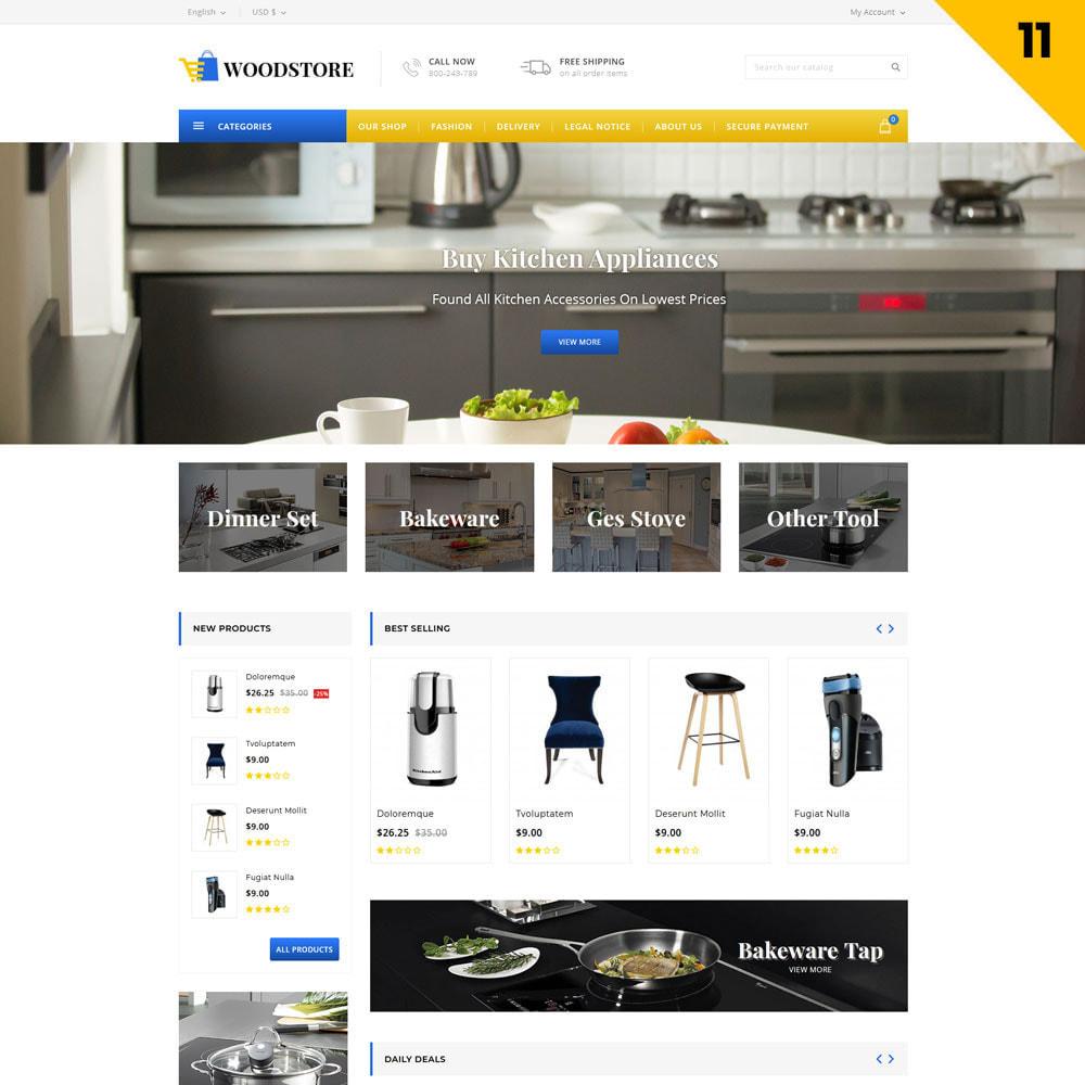 theme - Casa & Giardino - Wood - il negozio di mobili - 14