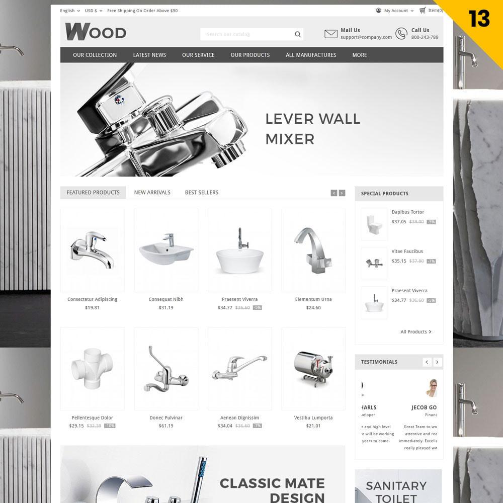 theme - Casa & Giardino - Wood - il negozio di mobili - 16