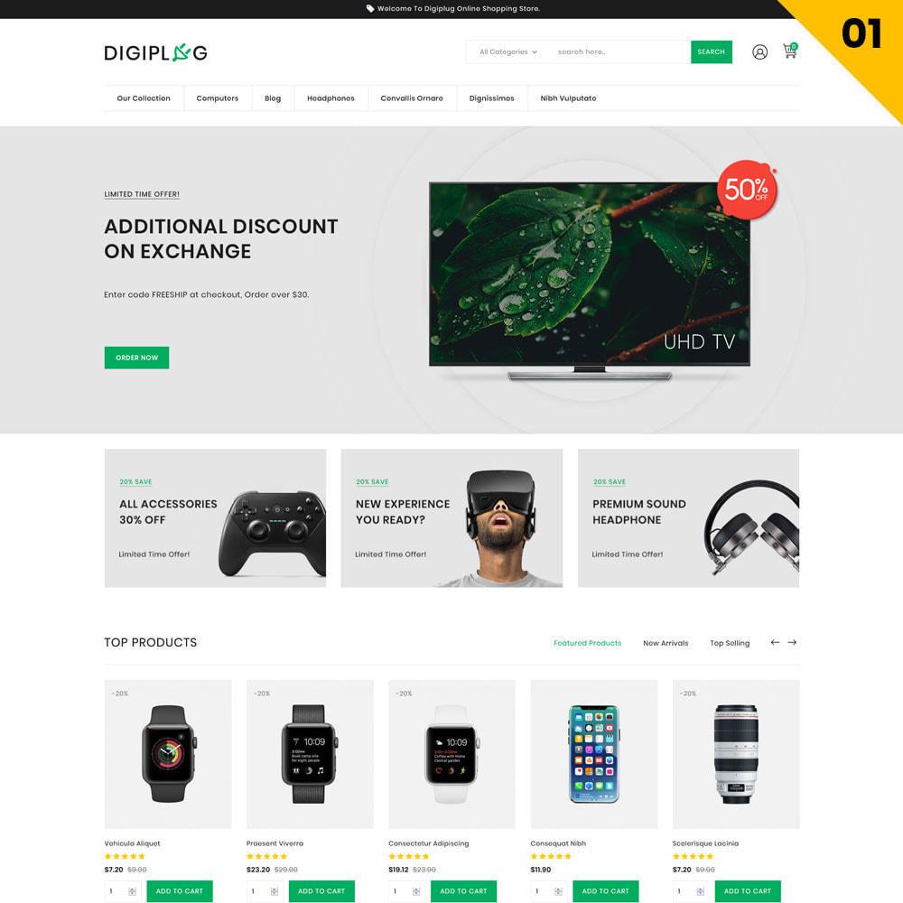theme - Elektronik & High Tech - Digiplug - The Electronic Shop - 3