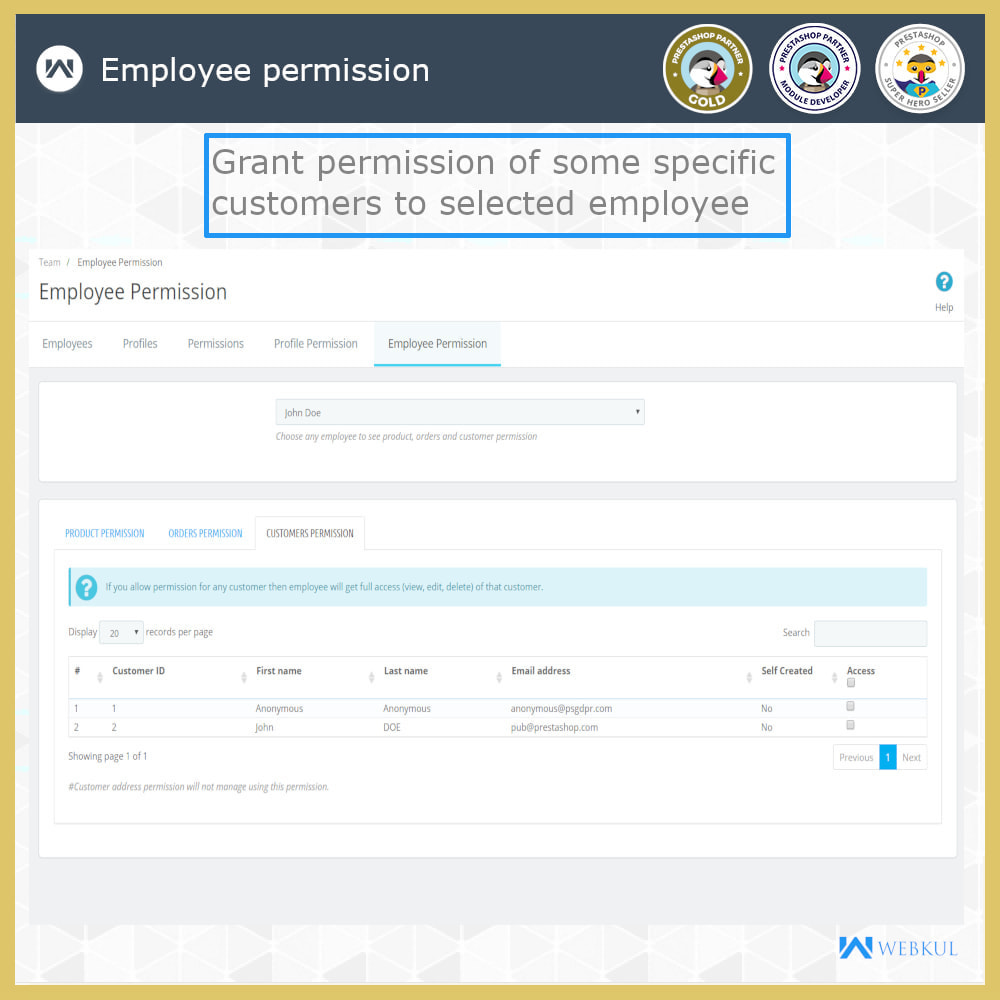 module - Amministrazione - Employee Advance Permission | Admin Staff - 22