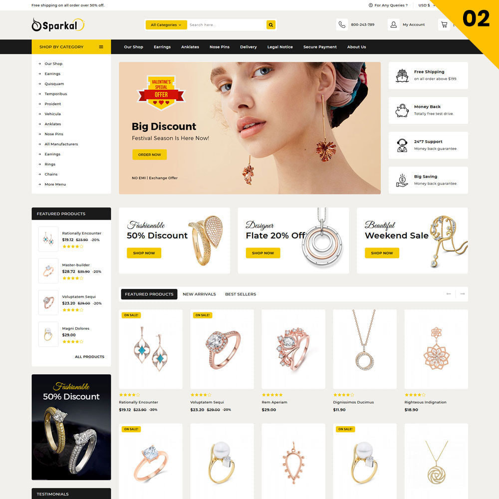 theme - Schmuck & Accesoires - Sparkal - The Jewellery Shop - 4