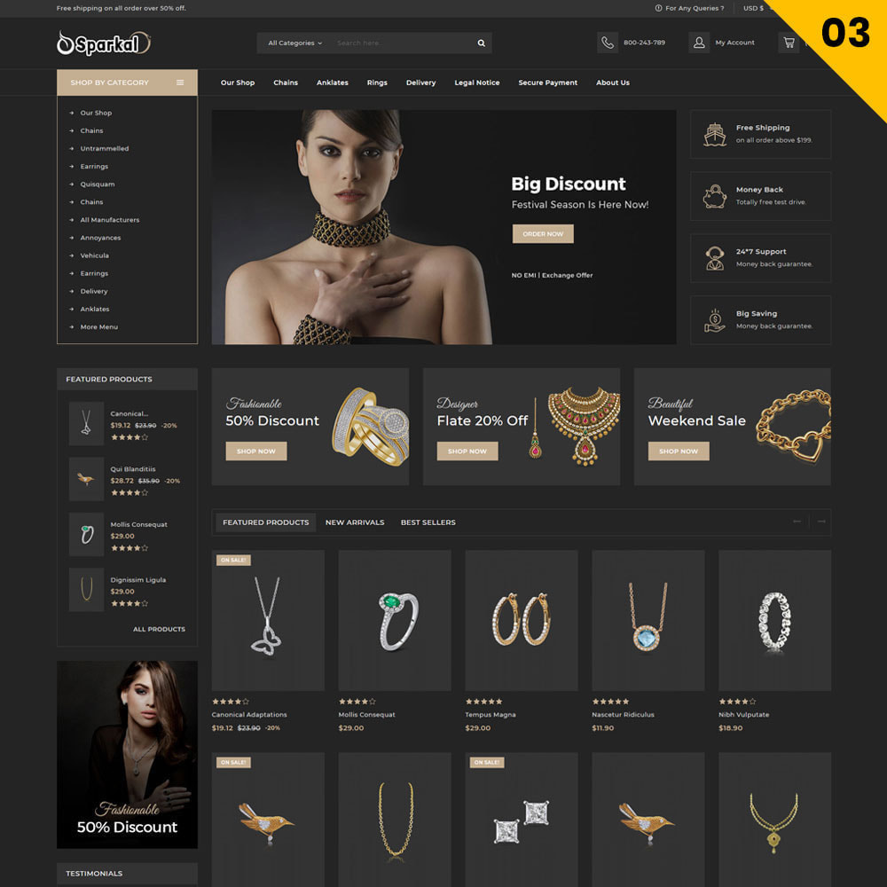 theme - Schmuck & Accesoires - Sparkal - The Jewellery Shop - 5
