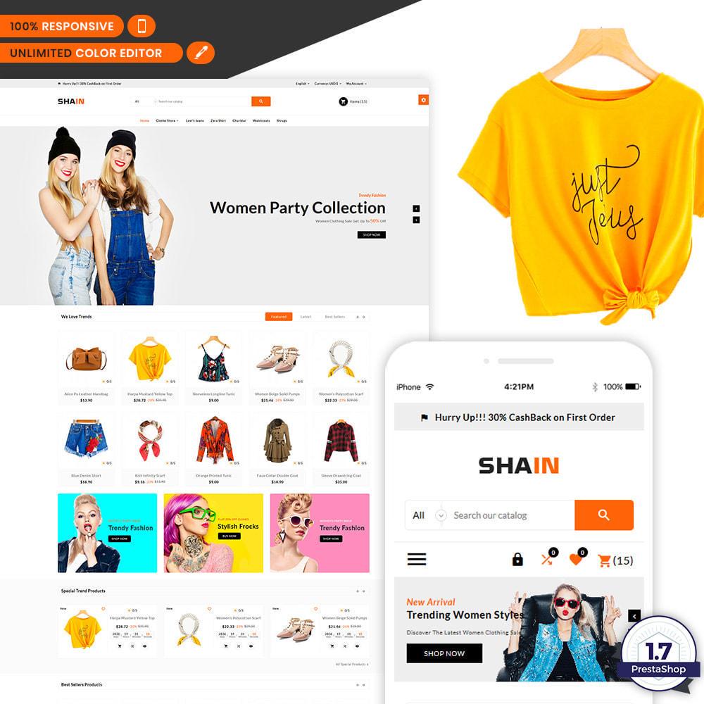 theme - Fashion & Shoes - Shain Fashion Stylish Stop - 1