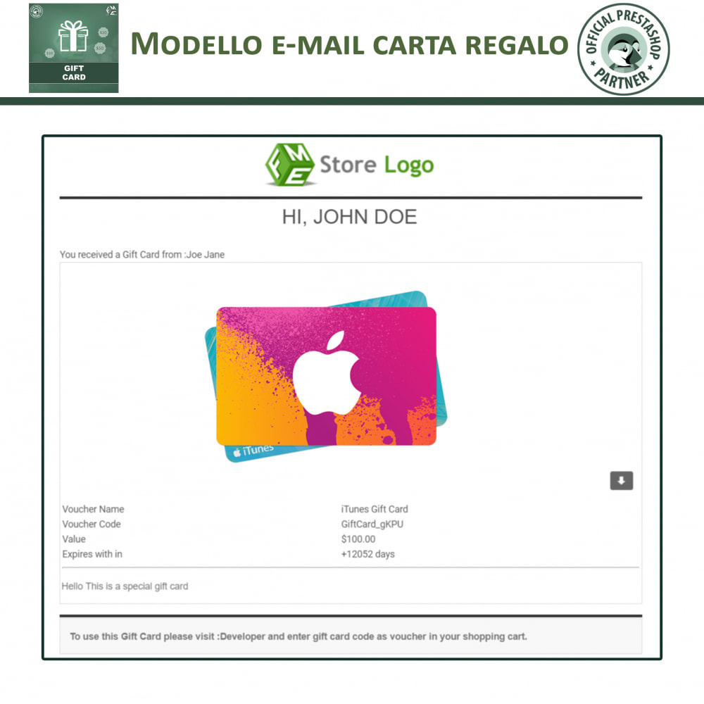 module - Whishlist & Gift Card - Carta Regalo - 9