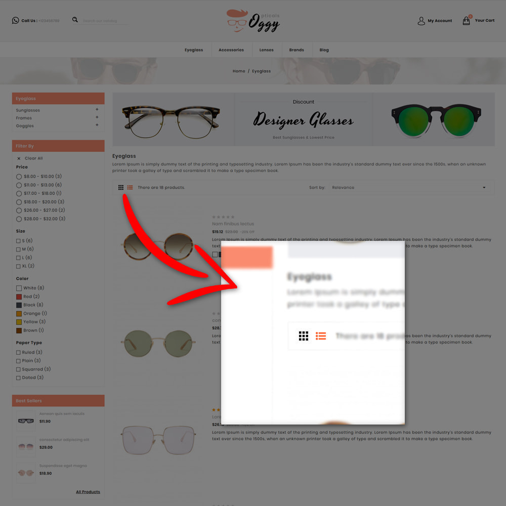 theme - Jewelry & Accessories - Oggy - Opticals Shop - 6