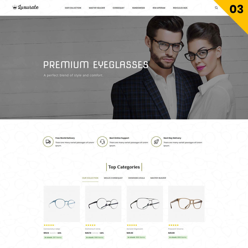 theme - Jewelry & Accessories - Luxurate - The Jewelry Store - 5