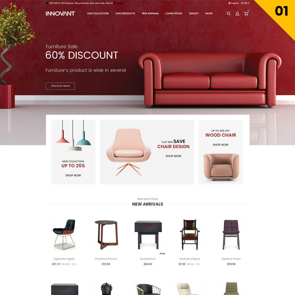 theme - Casa & Jardins - Innovant - The Furniture Store - 3