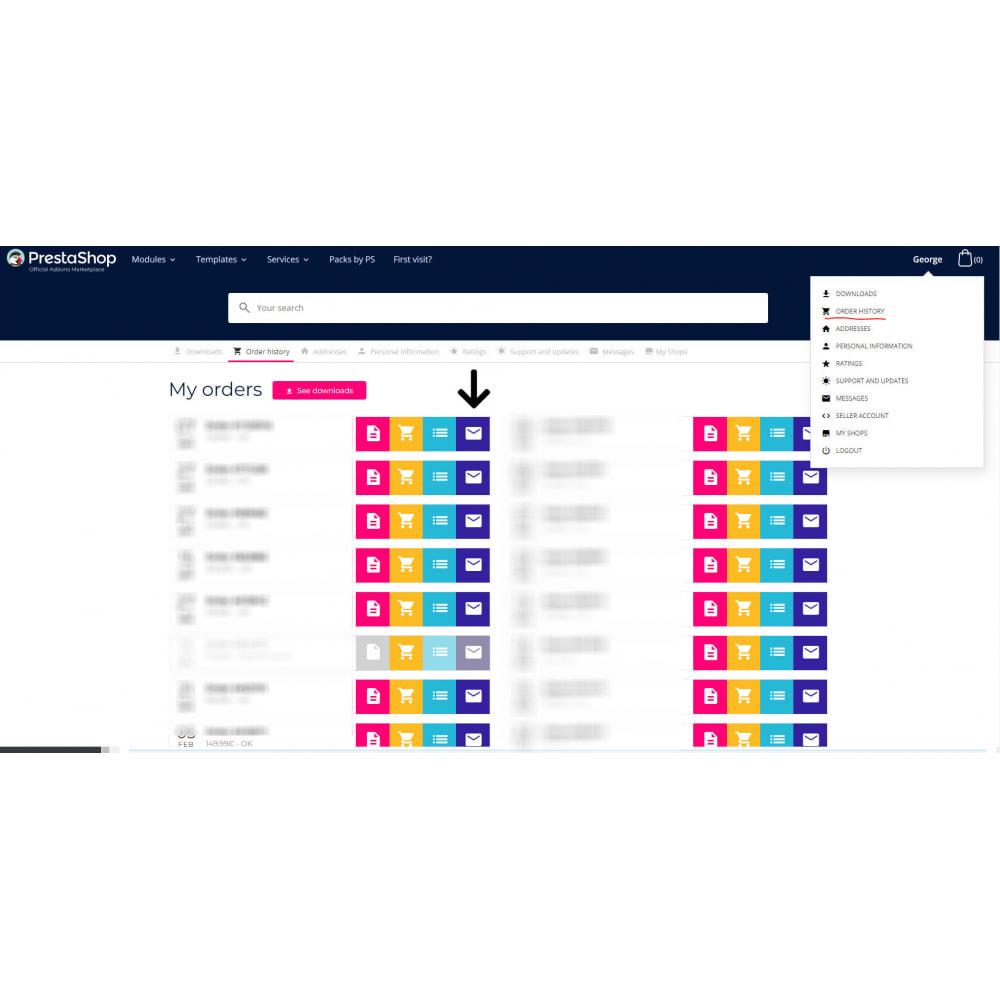 module - Бухгалтерии и выставления счетов - Счет pdf электронная почта копия - 6