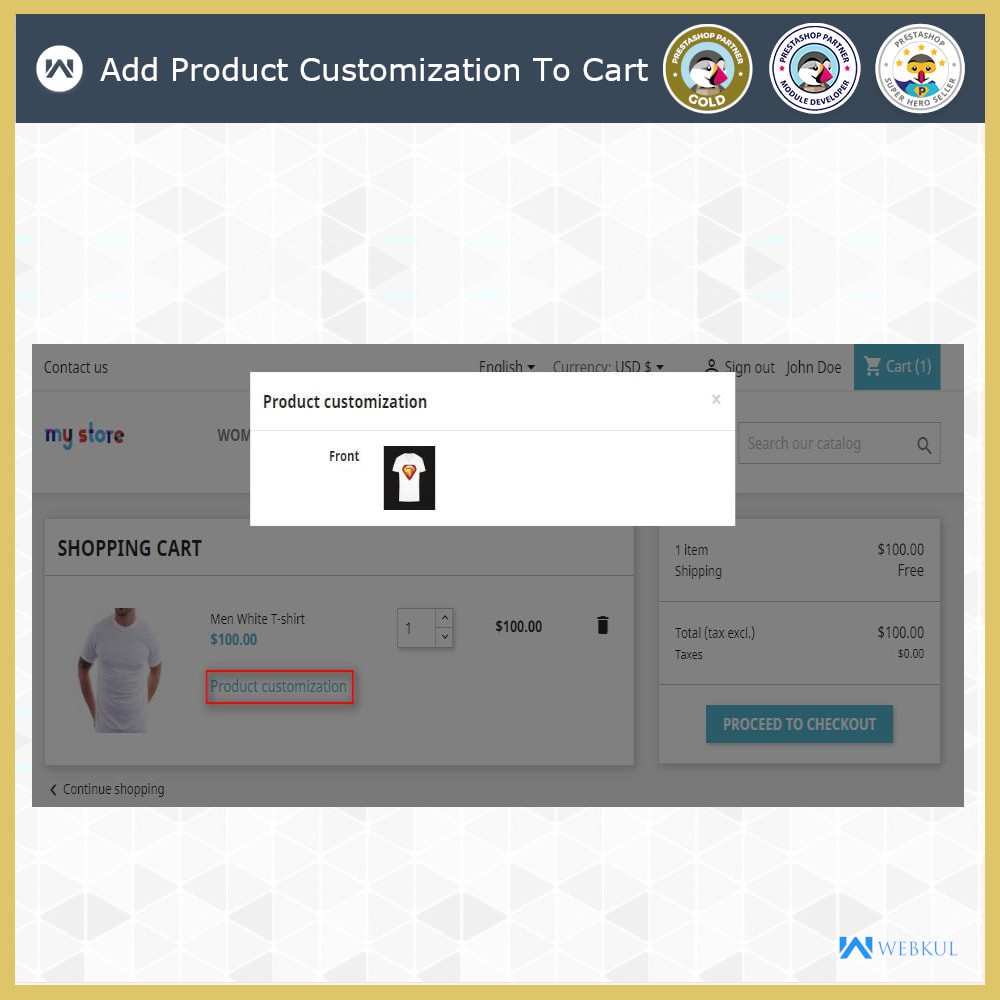 module - Bundels & Personalisierung - Web To Print -  Product Customize - 9