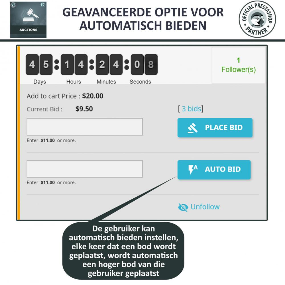 module - Bouw een veilingsite - Auction Pro, Online veilingen en biedingen - 21