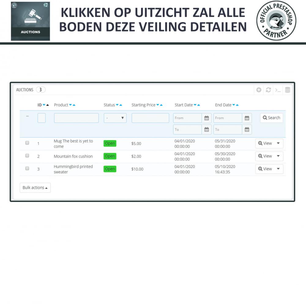 module - Bouw een veilingsite - Auction Pro, Online veilingen en biedingen - 26