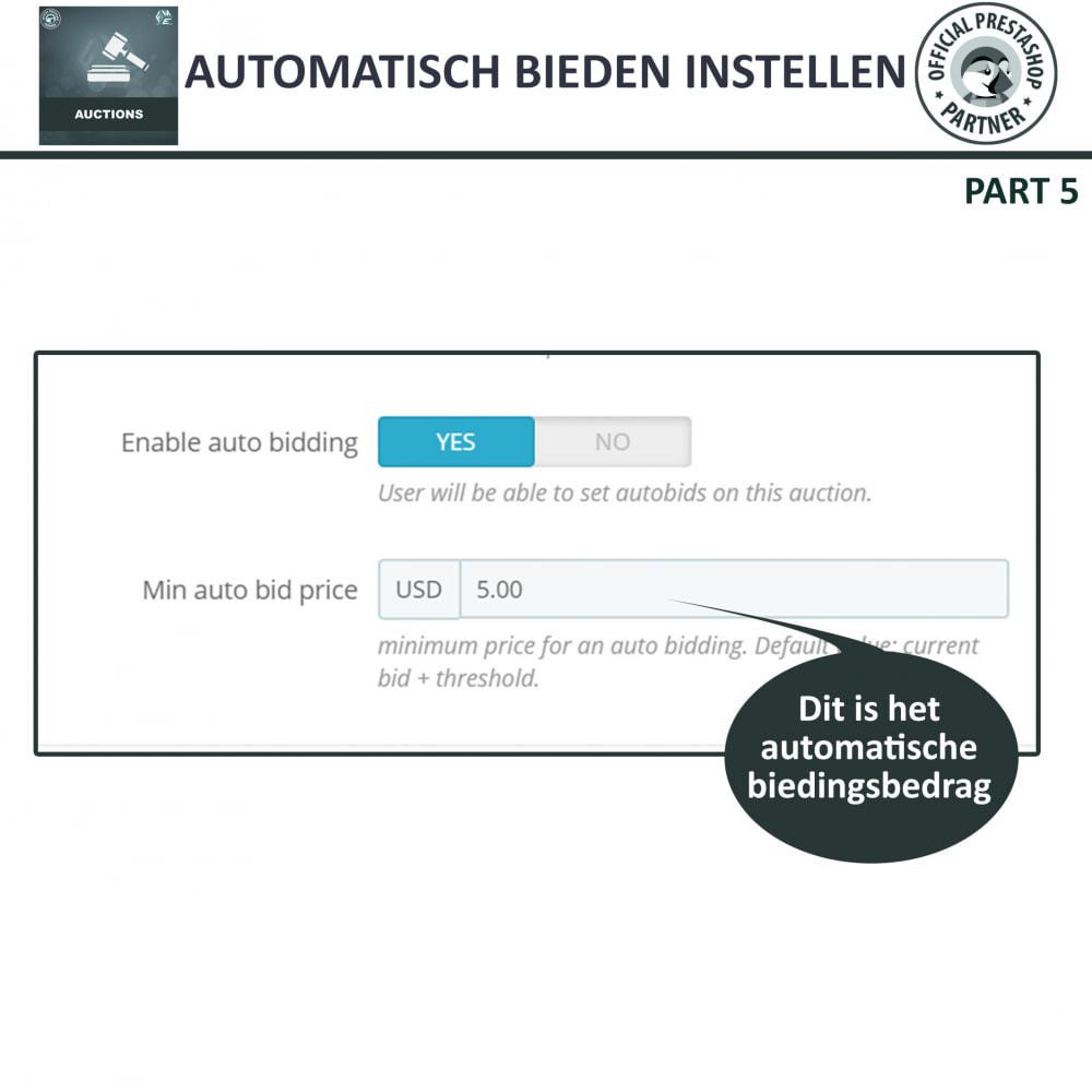 module - Bouw een veilingsite - Auction Pro, Online veilingen en biedingen - 27