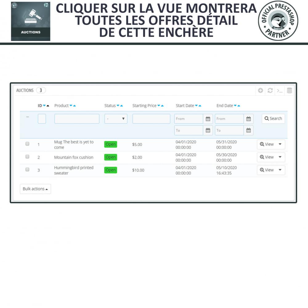 module - Site d'enchères - Enchères Pro - Système d'enchères en ligne - 20